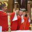 Już po Mszy Św. wotywnej o Duchu Świętym i modlitwach o uzdrowienie.