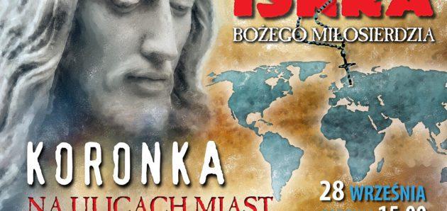 Koronka do Miłosierdzia Bożego na ulicach miast świata 28.09. 2018 r. godz. 15.00
