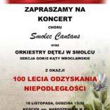 Zapraszamy na koncert pieśni patriotycznych