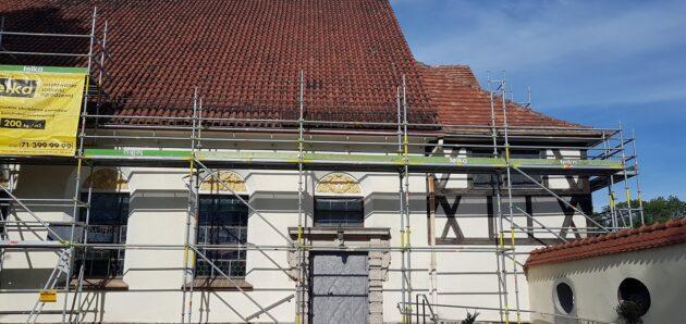 Kronika remontu dachu