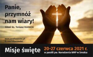 Misje święte 20-27 czerwca @ Kościelna 4